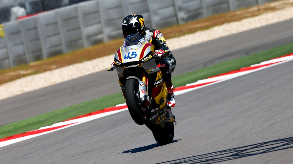 Scott Redding, Marc VDS Racing Team, COTA QP
