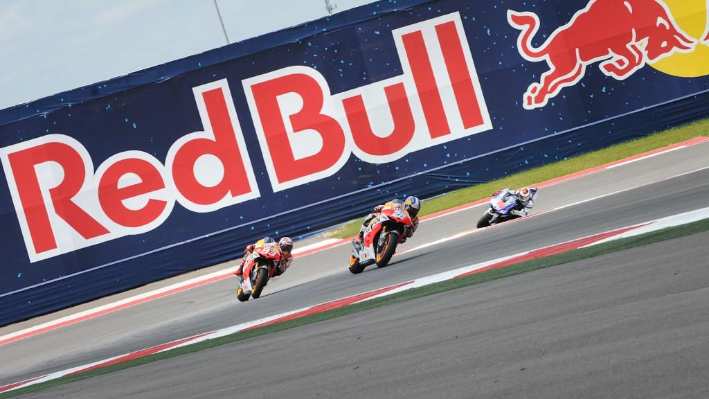 Dani Pedrosa, Marc Marquez, Jorge Lorenzo, Repsol Honda Team, Yamaha Factory Team, COTA RAC