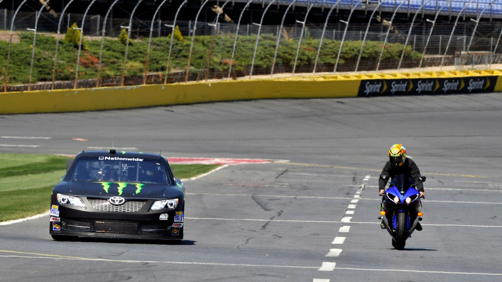 Valentino Rossi, Charlotte Motor Speedway Nascar Test