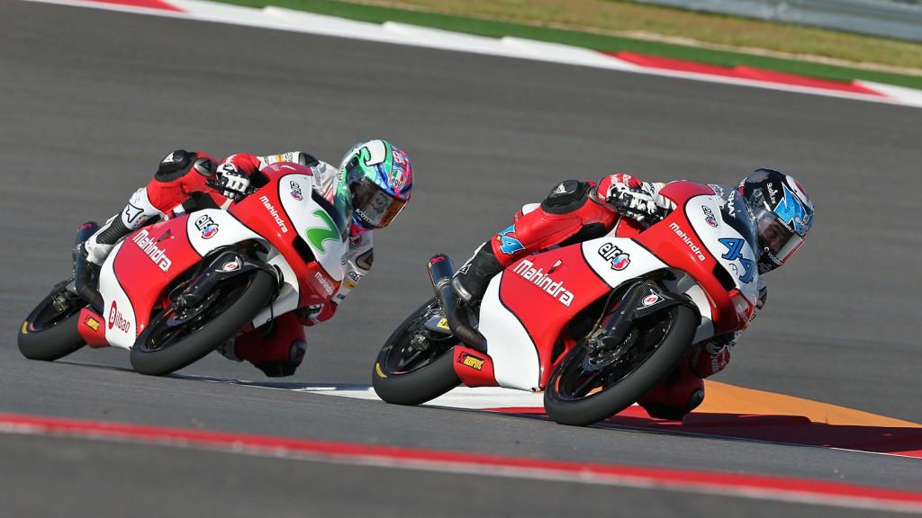 Oliveira, Vazquez, Mahindra Racing, COTA RAC
