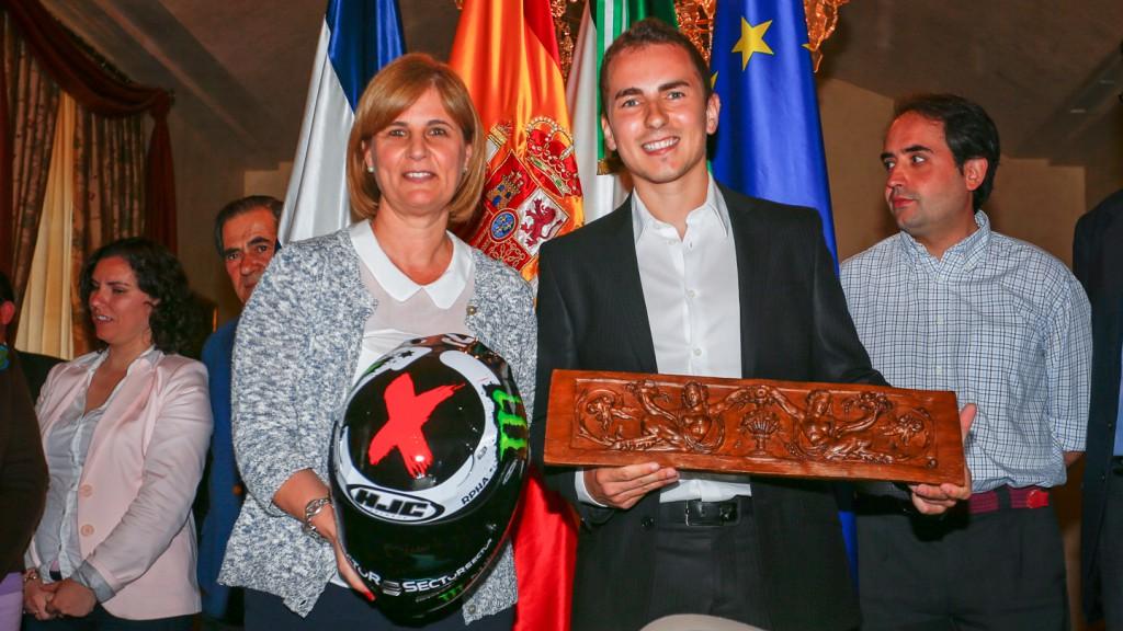 Jorge Lorenzo´s tribute from Jerez de la Frontera