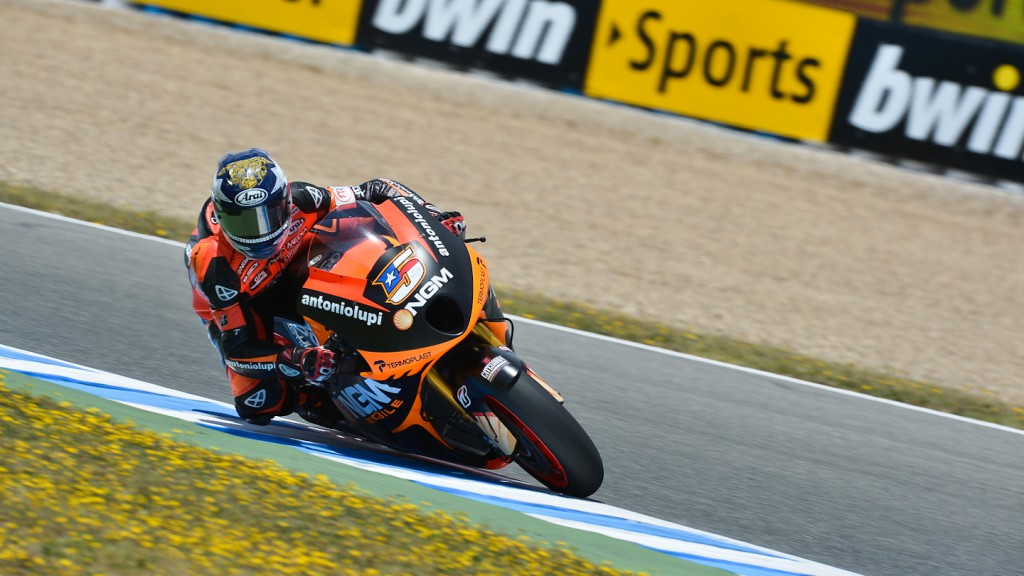Colin Edwards, NGM Mobile Forward Racing, Jerez FP2