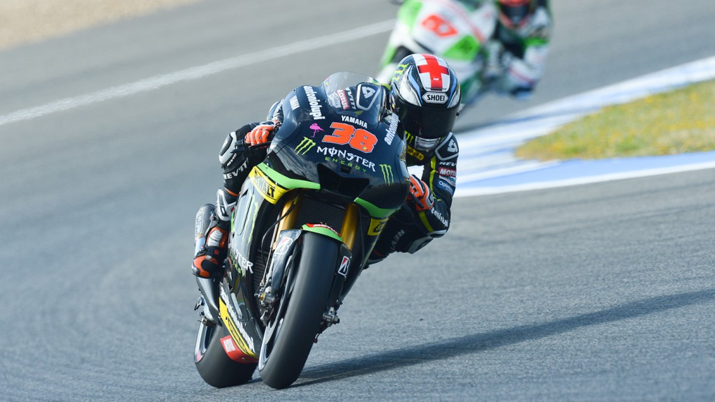 Bradley Smith, Monster Yamaha Tech 3, Jerez FP2