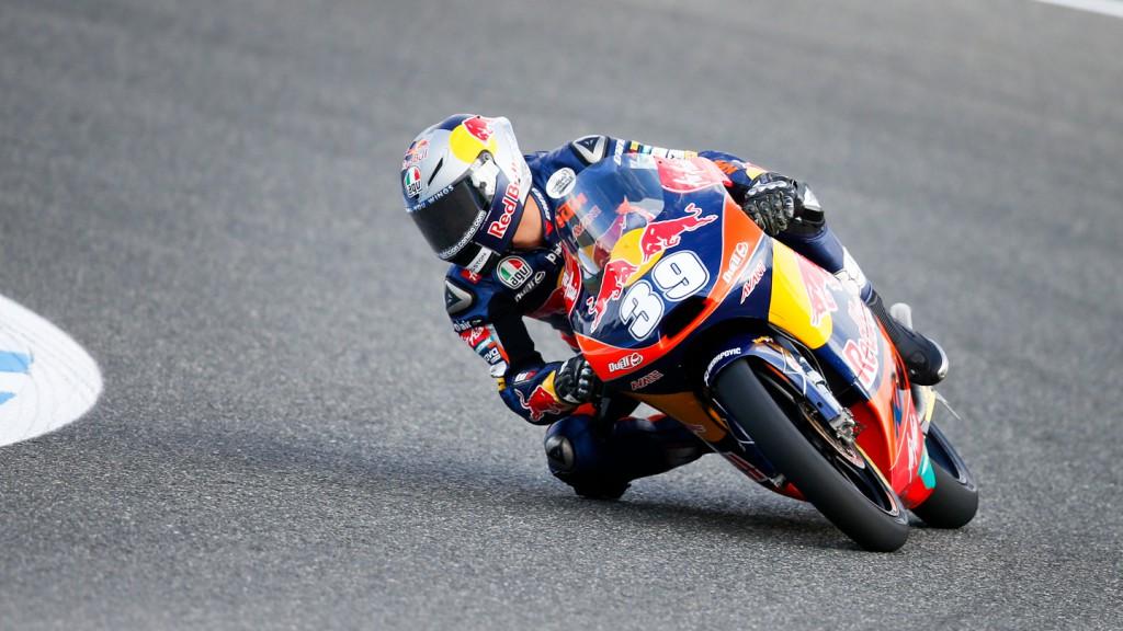 Luis Salom, Red Bull KTM Ajo, Jerez FP1