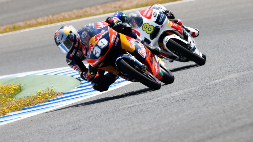 Luis Salom Red Bull KTM Ajo, Jerez FP2