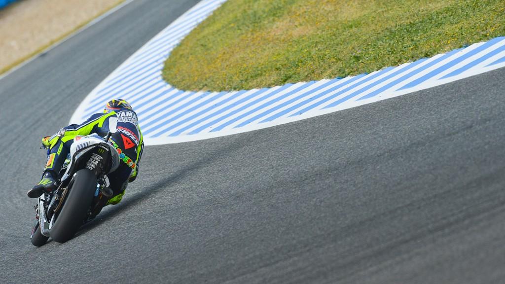 Valentino Rossi, Yamaha Factory Racing, Jerez FP2