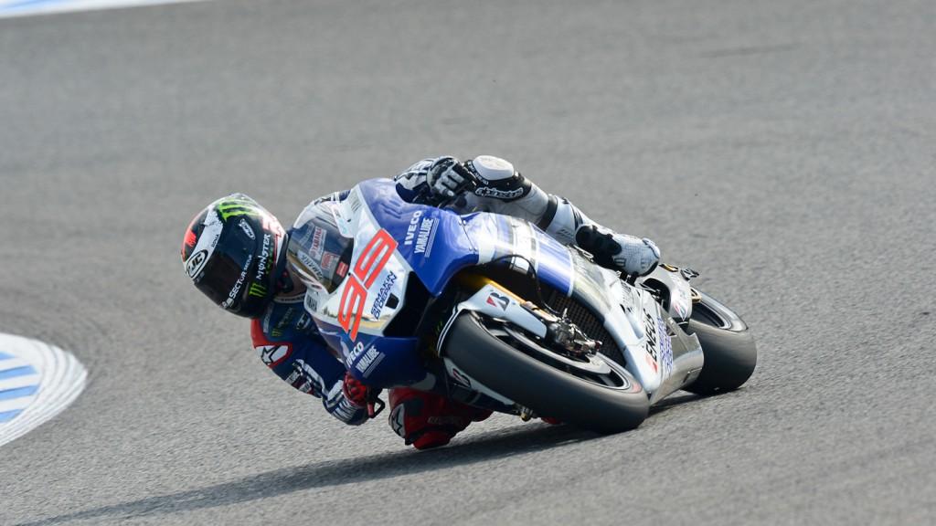 Jorge Lorenzo, Yamaha Factory Racing, Jerez FP2