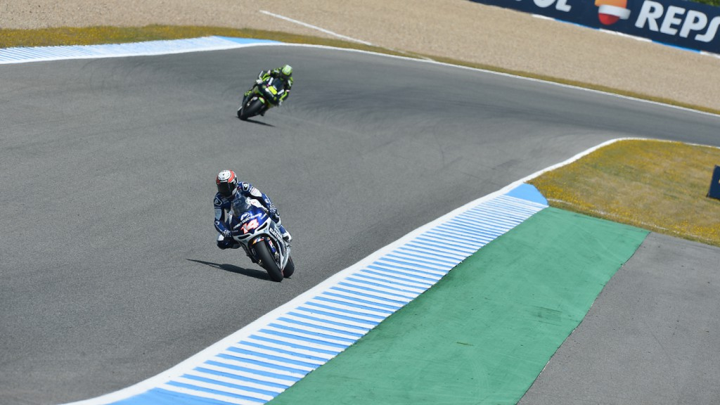 Randy de Puniet, Power Electronics Aspar, Jerez Q1