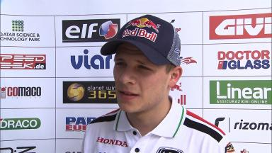 Bradl: 'We cannot be happy with our pace'