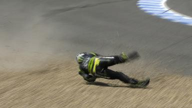 Jerez 2013 - MotoGP - Q2 - Action - Cal Crutchlow - crash