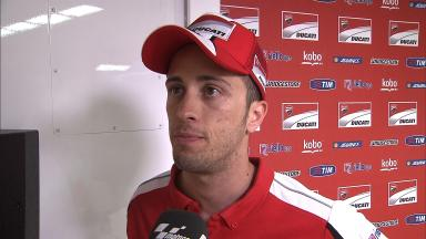 Dovizioso says soft front compound reason for crashes