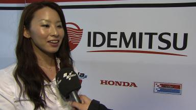 Jerez 2013 - MotoGP - Interview - Midori Moriwaki