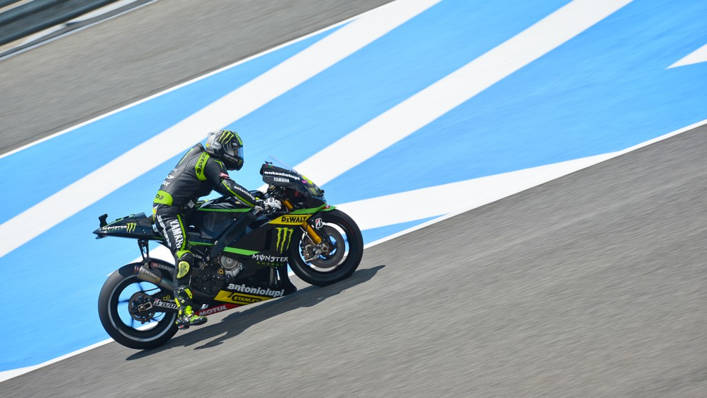 Cal Crutchlow, Monster Yamaha Tech 3, Jerez FP3