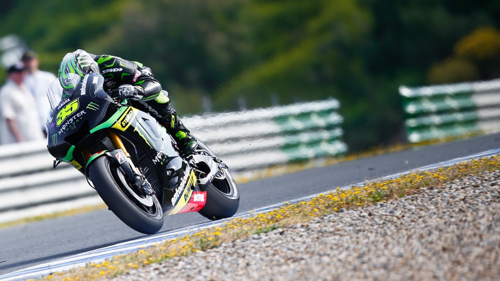 Cal Crutchlow, Monster Yamaha Tech 3, Jerez Q2