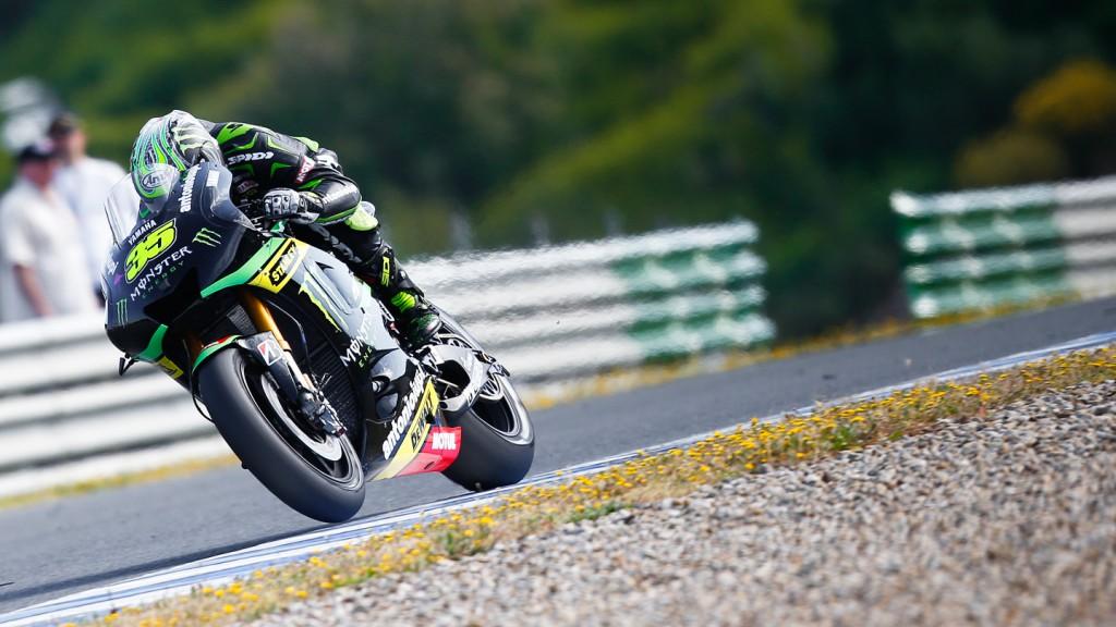 Cal Crutchlow, Monster Yamaha Tech 3, Jerez Q2