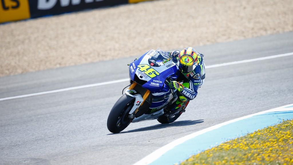 Valentino Rossi, Yamaha Factory Racing, Jerez Q2