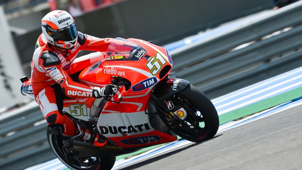 Michele Pirro, Ducati Team, Jerez Q1