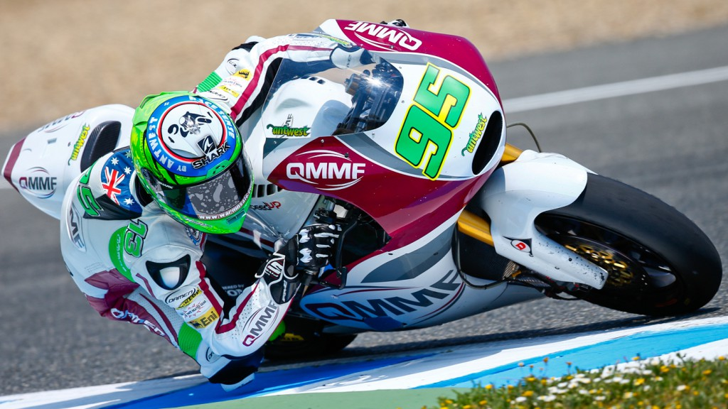 Anthony West, QMMF Racing Team, Jerez QP