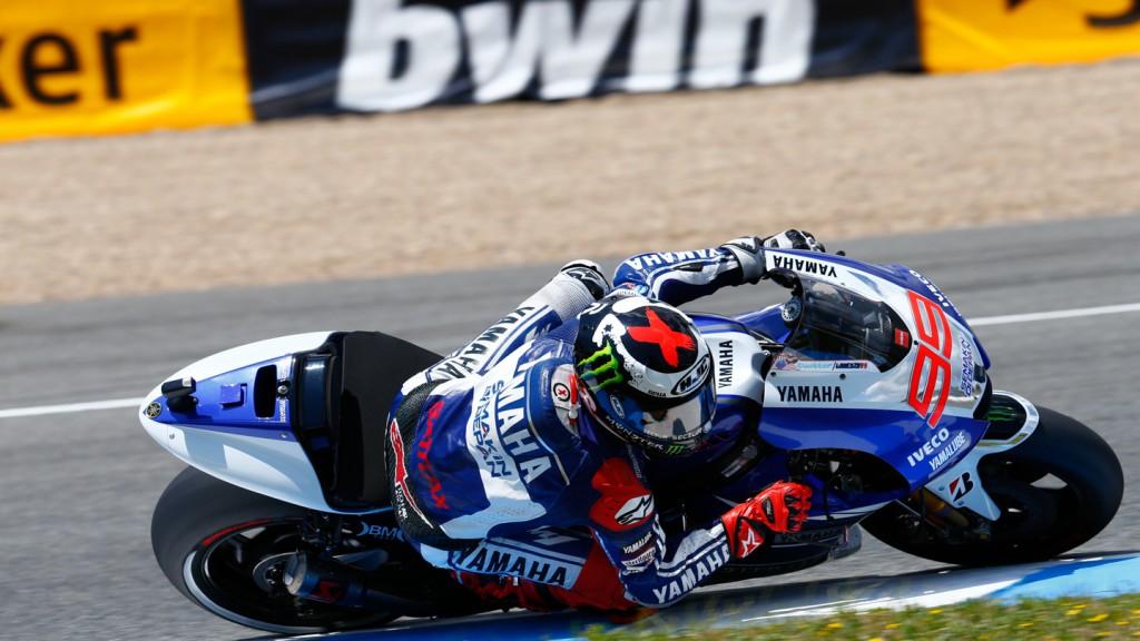 Jorge Lorenzo, Yamaha Factory Racing, Jerez Q2