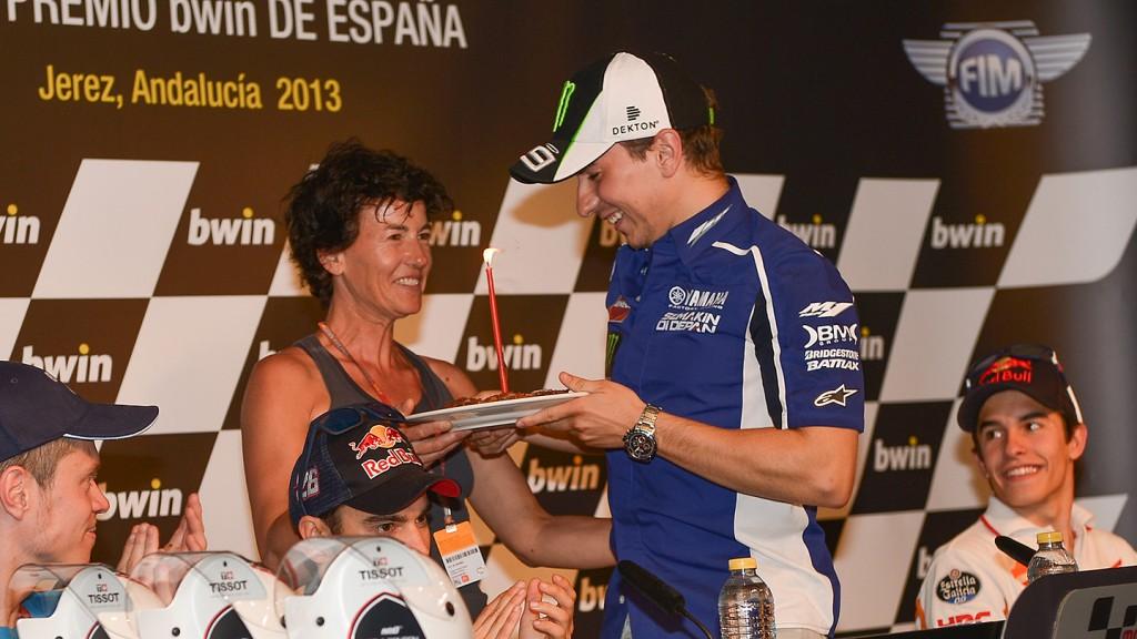 Lorenzo´s birthday, Jerez CIrcuit