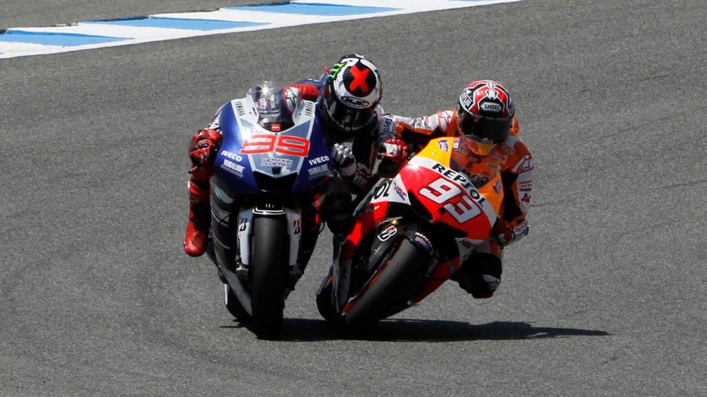 Lorenzo, Marquez, Yamaha Factory Racing, Repsol Honda Team, Jerez RAC- © Gigi Soldano / Milagro