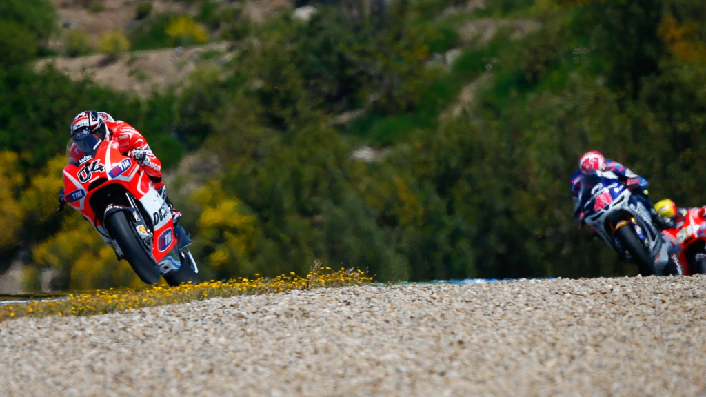 Andrea Dovizioso, Ducati Team, Jerez RAC
