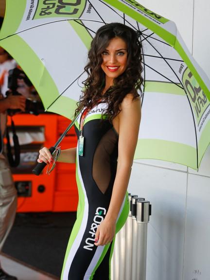 Paddock Girl, Gran Premio bwin de España