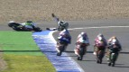 Jerez 2013 - Moto3 - RACE - Action - Niccolò Antonelli - Crash