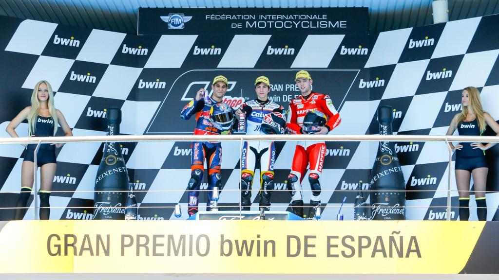 Salom, Viñales, Folger, Red Bull KTM Ajo, Team Team Calvo, Mapfre Aspar Team Moto3, Jerez RAC