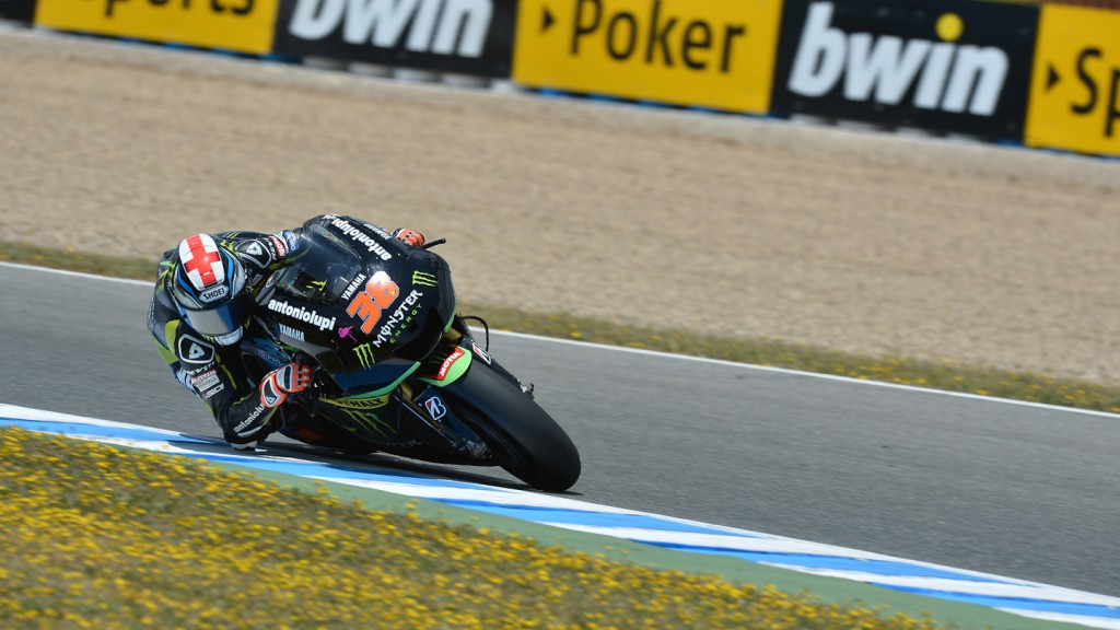 Bradley Smith, Monster Yamaha Tech 3, Jerez RAC
