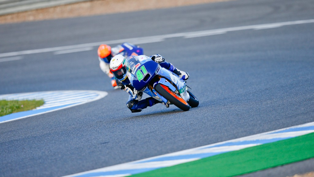Brad Binder, Ambrogio Racing, Jerez RAC