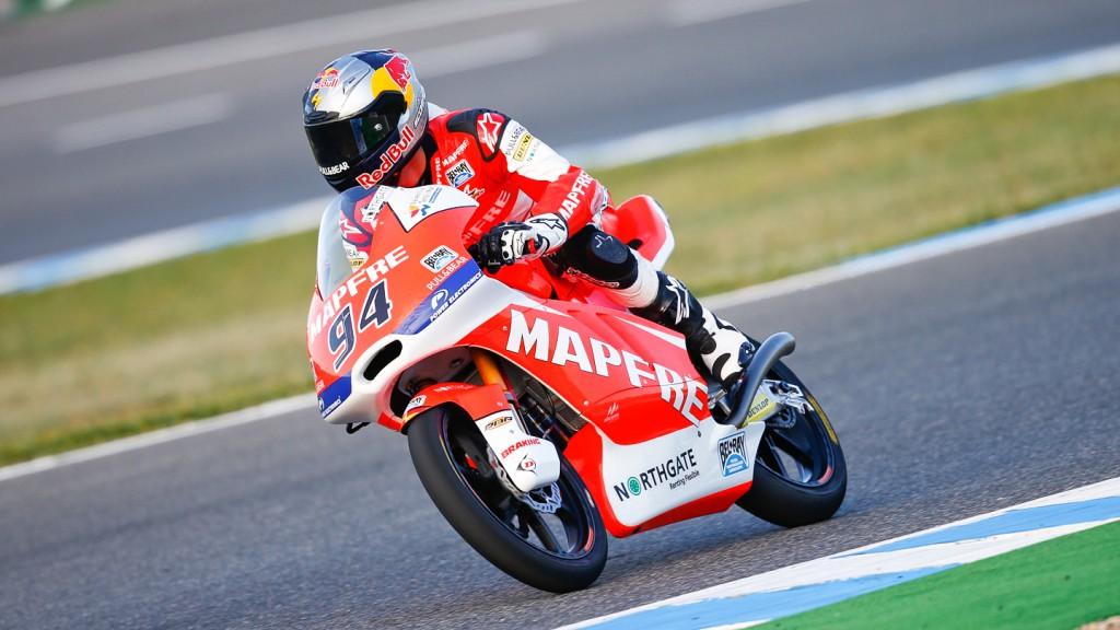 Jonas Folger, Mapfre Aspar Team Moto3, Jerez WUP