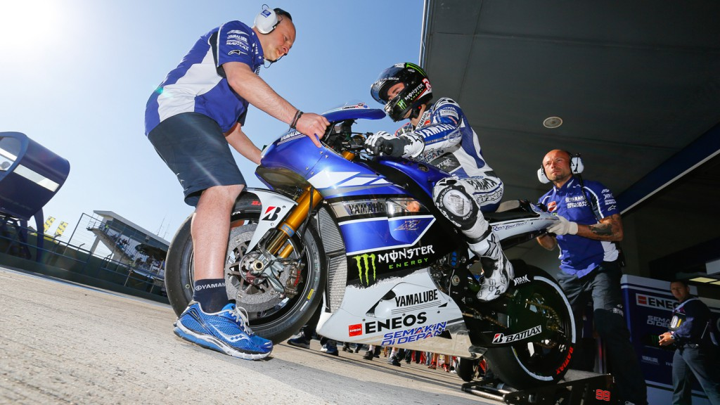 Jorge Lorenzo, Yamaha Factory Racing, Jerez WUP