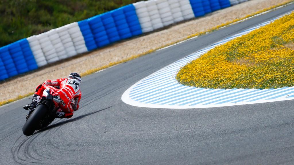 Andrea Dovizioso, Ducati Team, Jerez Test