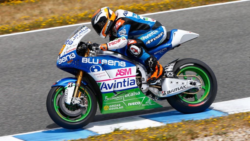 Hector Barbera, Avintia Blusens, Jerez Test