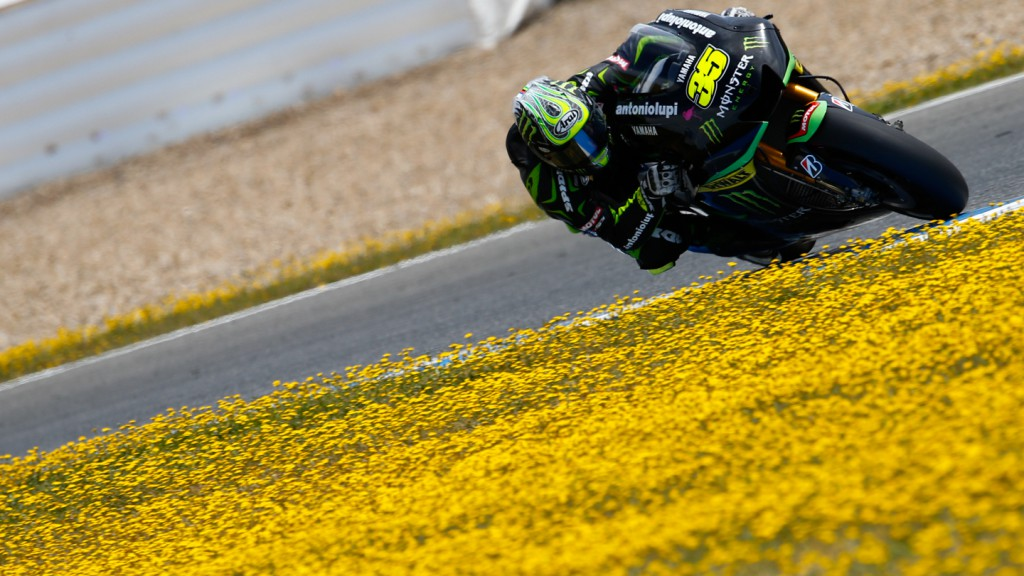 Cal Crutchlow, Monster Yamaha Tech 3, Jerez Test