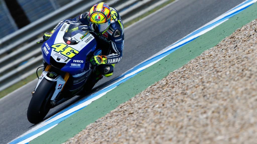 Valentino Rossi, Yamaha Factory Racing, Jerez Test