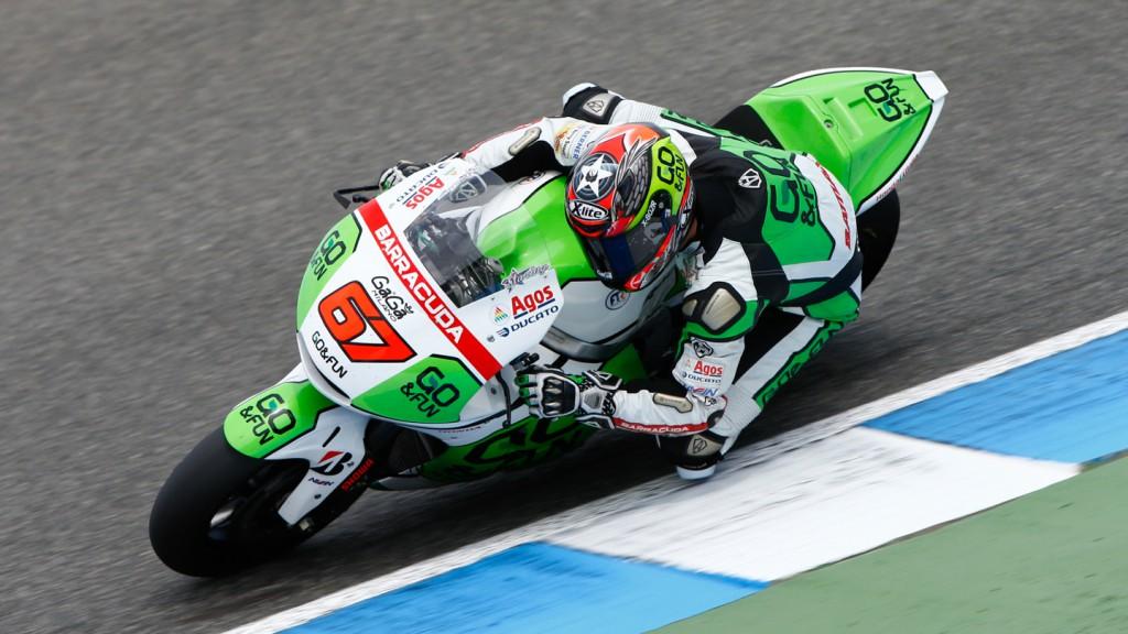 Bryan Staring, GO&FUN Honda Gresini, Jerez Test