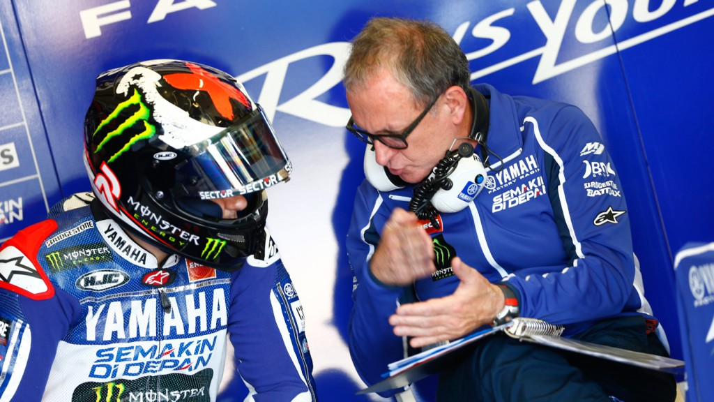 Jorge Lorenzo, Yamaha Factory Racing, Test Jerez
