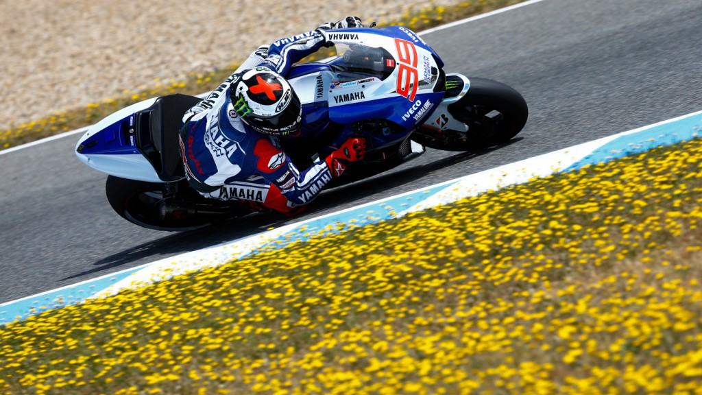Jorge Lorenzo, Yamaha Factory Racing, Jerez Test