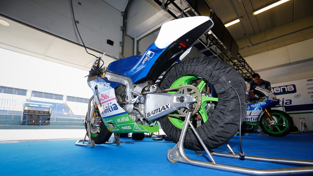 Avintia Blusens, Bike Detail, Test Jerez