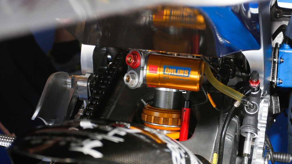 Avintia Blusens, Bike Detail, Test Jerez