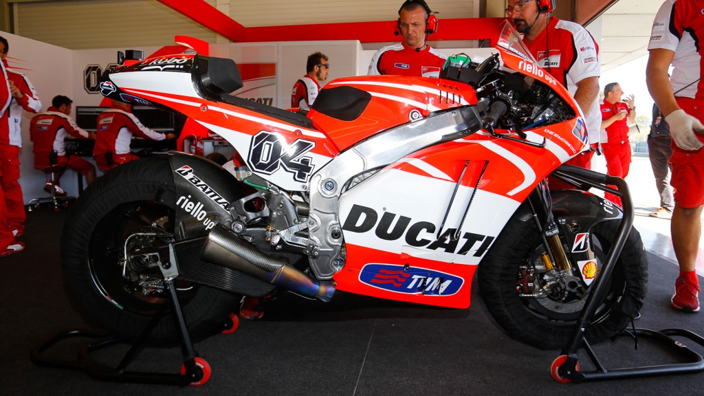 Ducati Desmosedici GP13 Lab Bike, Jerez post-race test