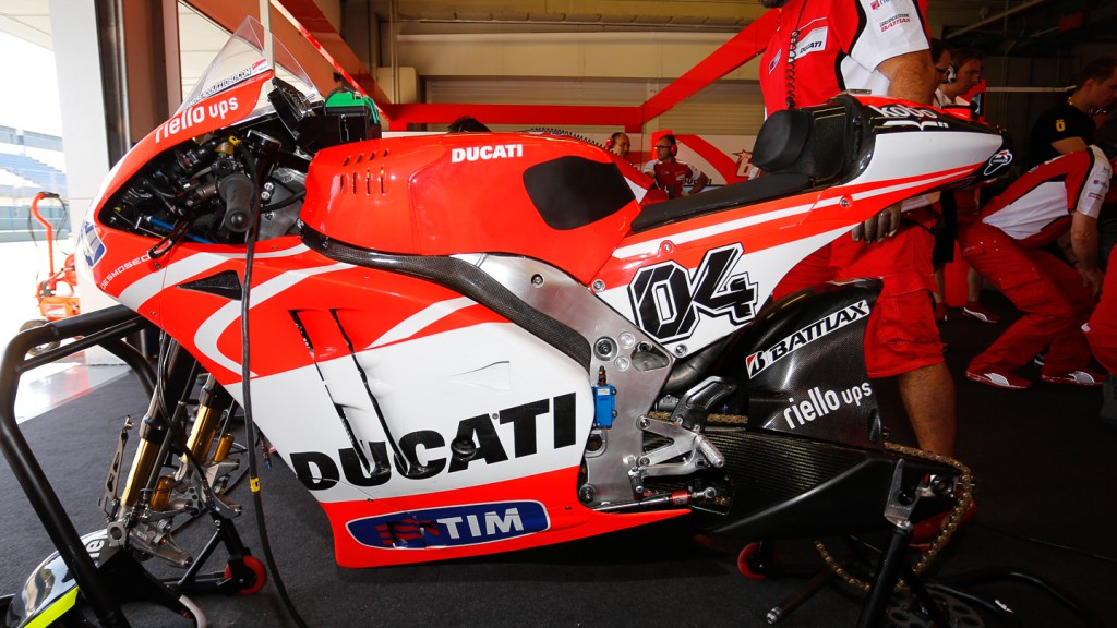 Ducati Desmosedici GP13, Jerez post-race test