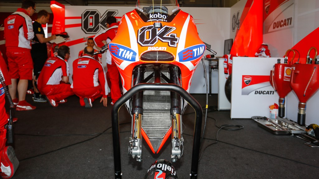 Dovizioso´s Bike, Jerez Test