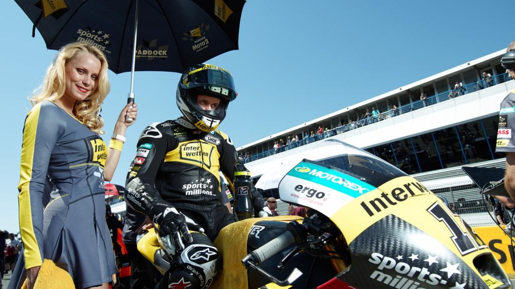 Thomas Luthi, Interwetten Paddock Moto2 Racing, Jerez RAC- © Copyright Alex Chailan & David Piolé