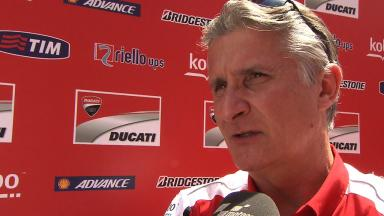 Ciabatti shares the latest on Ducati GP13 Lab