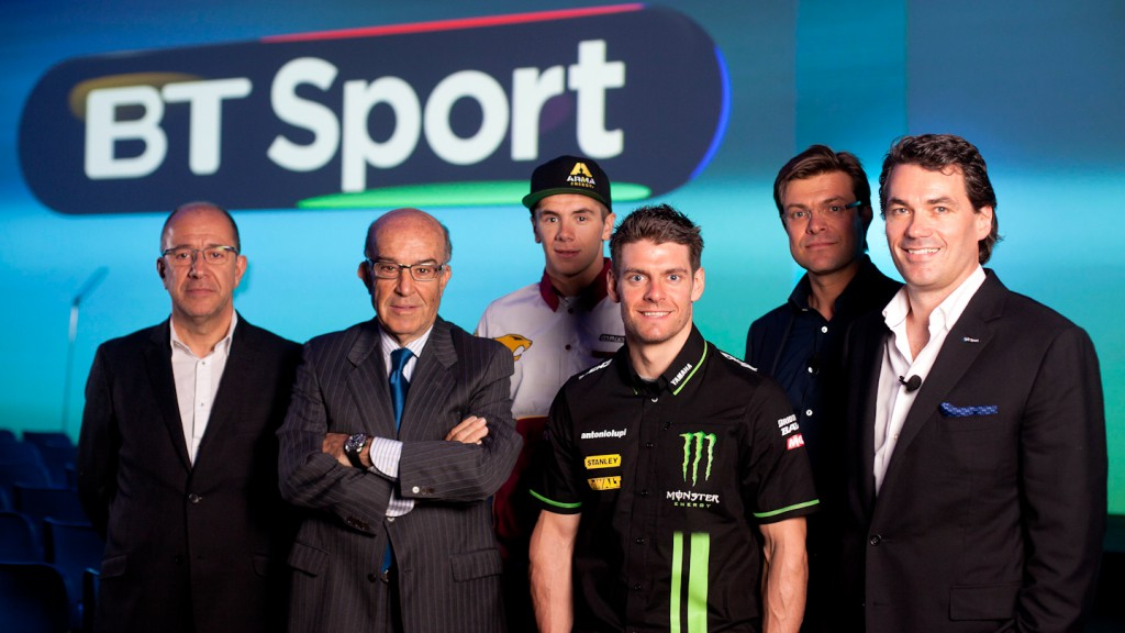 BT Sport to bring MotoGP™ to British audiences from 2014