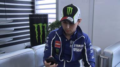 Lorenzo Live Le Mans Q&A