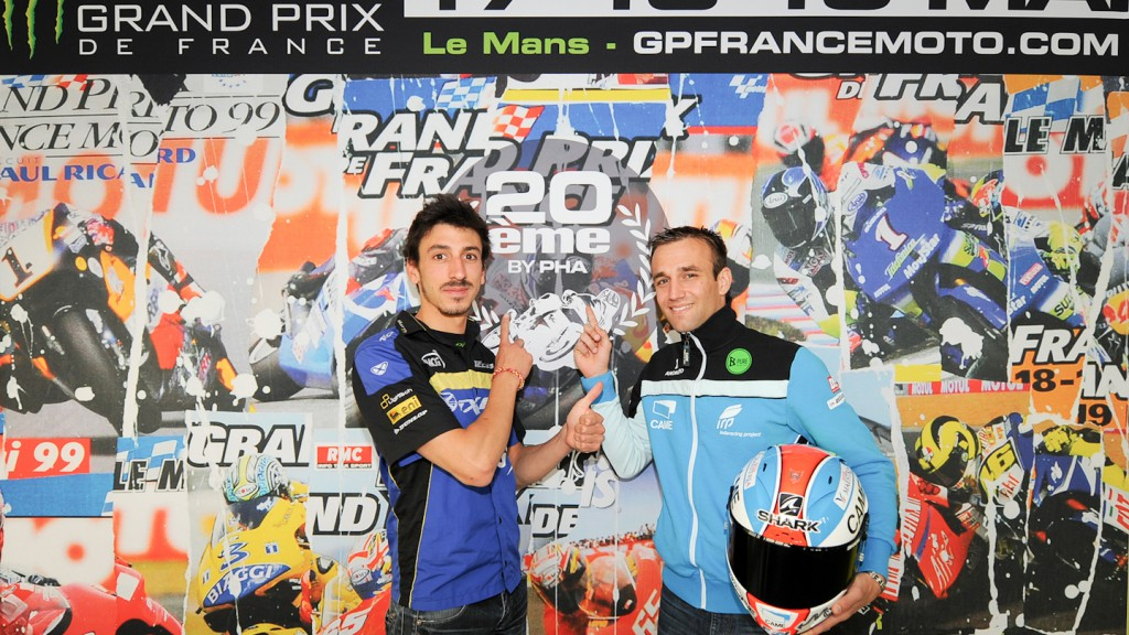 Louis Rossi, Johann Zarco, Tech 3, Came IodaRacing Project, Le Mans Presentation